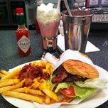Photo taken at Johnny Rockets by Daniel P. on 4/3/2012