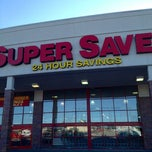 Photo taken at Super Saver by Bruce B. on 6/3/2012