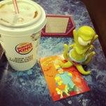 Photo taken at Burger King by Jussara B. on 7/27/2012