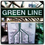 Photo taken at MBTA Green Line - B Train by mikie a. on 8/18/2012