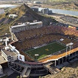 Photo taken at Sun Devil Stadium by Jimmy D. on 12/29/2010