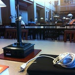 Photo taken at Suffolk Law School Library 6th Floor Main Reading Room by Joyce M. on 9/2/2011