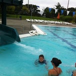 Photo taken at Mounger Pool by Ligaya on 8/18/2012