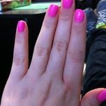 Photo taken at Sun Nails Salon & Spa by Heather R. on 3/2/2012