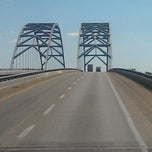 Photo taken at Luther Draffen Bridge by Finster G. on 7/28/2012