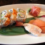 Photo taken at Sushi at The Lake by Katie K. on 8/21/2012