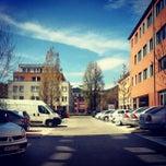 Photo taken at Szépvölgyi Business Park by Virág A. on 4/11/2012
