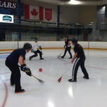 Photo taken at Rockville Ice Arena by DC Social Sports C. on 9/10/2011