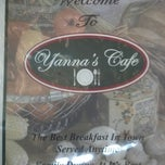 Photo taken at Yanna's Cafe by Bryan D. on 8/12/2012