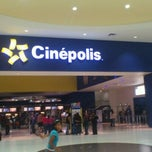 Photo taken at Cinepolis by Fabián Gibran O. on 4/8/2012