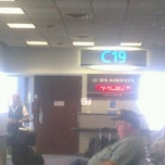 Photo taken at Gate C19 by Peter B. on 8/30/2011