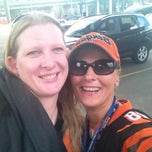 Photo taken at Bengals tailgate lot 1 by Diana R. on 8/10/2012