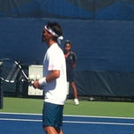 Photo taken at Court 16 - USTA Billie Jean King National Tennis Center by Sandy B. on 8/29/2012