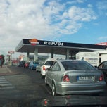 Photo taken at Gasolinera Repsol by Karel M. on 8/30/2012