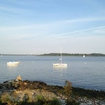 Photo taken at Saunderstown Yacht Club by Kelley D. on 8/24/2012