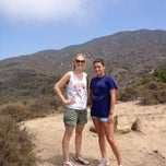 Photo taken at Nicholas Flat Trail, Malibu Canyon by Jessica on 7/22/2012