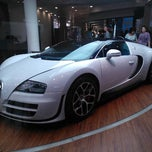 Photo taken at Bugatti | Automobil Forum Unter den Linden by Juha R. on 9/4/2012