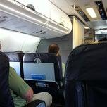 Photo taken at AirTran flt 135    ATL-TPA by Greg C. on 9/11/2011
