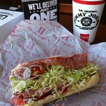 Photo taken at Jimmy John's by Rogie O. on 7/31/2012