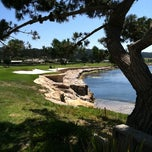 Photo taken at The Lodge at Pebble Beach by Megan E. on 7/25/2011