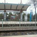 Photo taken at Bush Turnpike Station (DART Rail) by Lauren Y. on 2/3/2012