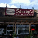 Photo taken at Sparky's Giant Burgers by Sean R. on 10/16/2011