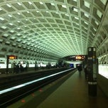 Photo taken at McPherson Square Metro Station by David S. on 4/4/2011