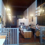 Photo taken at Trabant Coffee and Chai by L E. on 8/17/2012