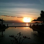 Photo taken at Puri Mas Boutique Resorts & Spa by Sandra Lubbers L. on 6/11/2011