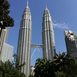 Photo taken at Kuala Lumpur City Centre (KLCC) Park by Brian K. on 4/3/2011