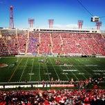 Photo taken at McMahon Stadium by Nicholas F. on 7/1/2012