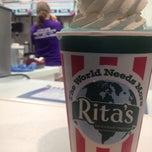 Photo taken at Rita's by Alexandria W. on 7/5/2012