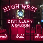 Photo taken at High West Distillery & Saloon by Jessica C. on 1/11/2012
