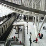 Photo taken at Gare SNCF d'Aéroport Charles de Gaulle TGV by @StratosAthens on 2/21/2011