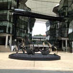 Photo taken at LASALLE College of the Arts by Lam K. on 7/6/2012