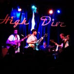 Photo taken at High Dive by Travis W. on 2/9/2012