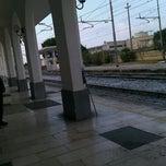 Photo taken at Stazione Di Ostuni by Dario C. on 11/25/2011