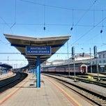 Photo taken at Bratislava hlavná stanica   Bratislava Central Station by Adam O. on 5/8/2012