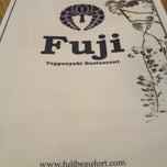 Photo taken at Fuji Teppanyaki Restaurant by Emma on 7/25/2012