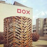 Photo taken at DOX Centrum současného umění by Hakume E. on 8/22/2012