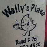 Photo taken at Wally's Place - Bagel & Deli by Dave L. on 6/23/2012