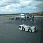 Photo taken at Flughafen Paderborn/Lippstadt (PAD) by Oxana D. on 6/22/2012