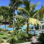 Photo taken at Sugar Beach Mauritius Hotel Resort & Spa by Renārs on 3/13/2012