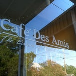 Photo taken at Cafe Des Amis by Mandi W. on 6/16/2012
