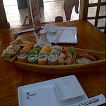 Photo taken at Sushihana by Betzabeth V. on 7/11/2012
