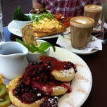 Photo taken at Coode Street Cafe by Rhiannon B. on 7/21/2012