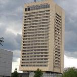 Photo taken at Panorama Hotel Prague by Davide P. on 8/12/2012