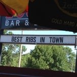 Photo taken at Boonies Bar and BBQ by Carmen T. on 8/5/2012
