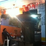 Photo taken at Taqueria El Boni by Mariana G. on 4/14/2012