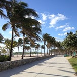 Photo taken at Lummus Park by Ambrogio C. on 3/6/2012